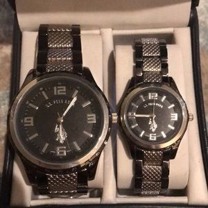 U.S. Polo Assn. His & Hers Watches
